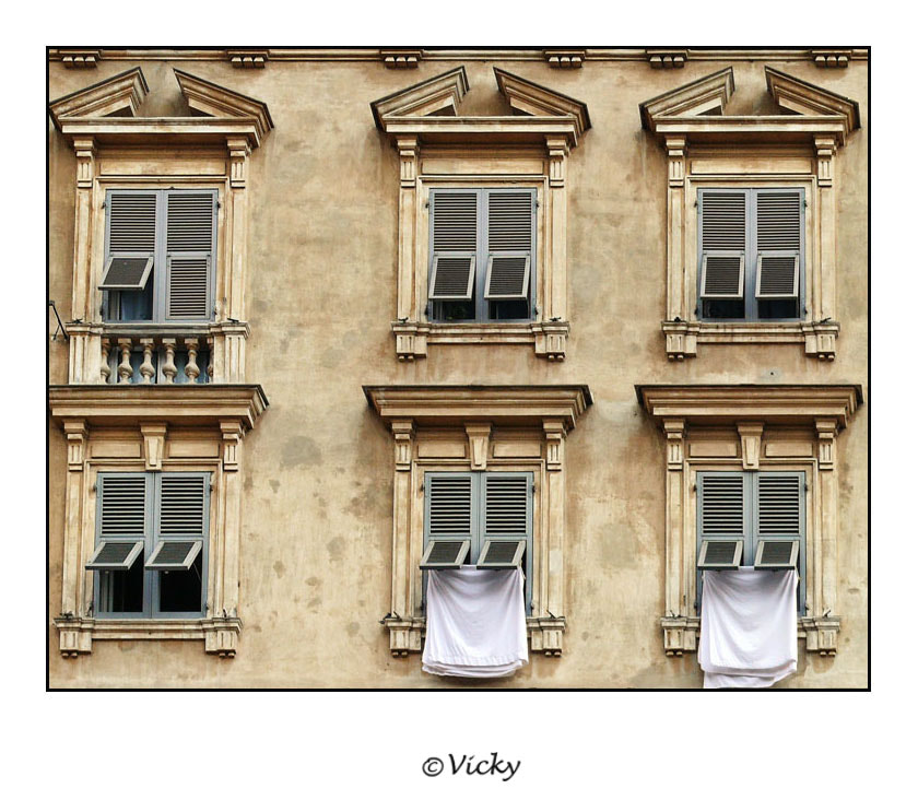 Photograph Italian windows by Vicky Dens on 500px