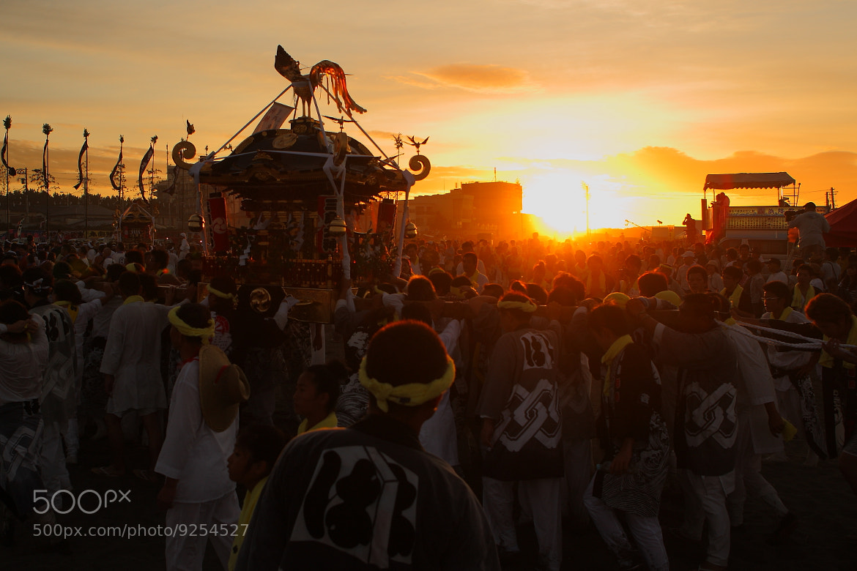 Photograph Mikoshi Sunrise by Nobuhiro Okada on 500px