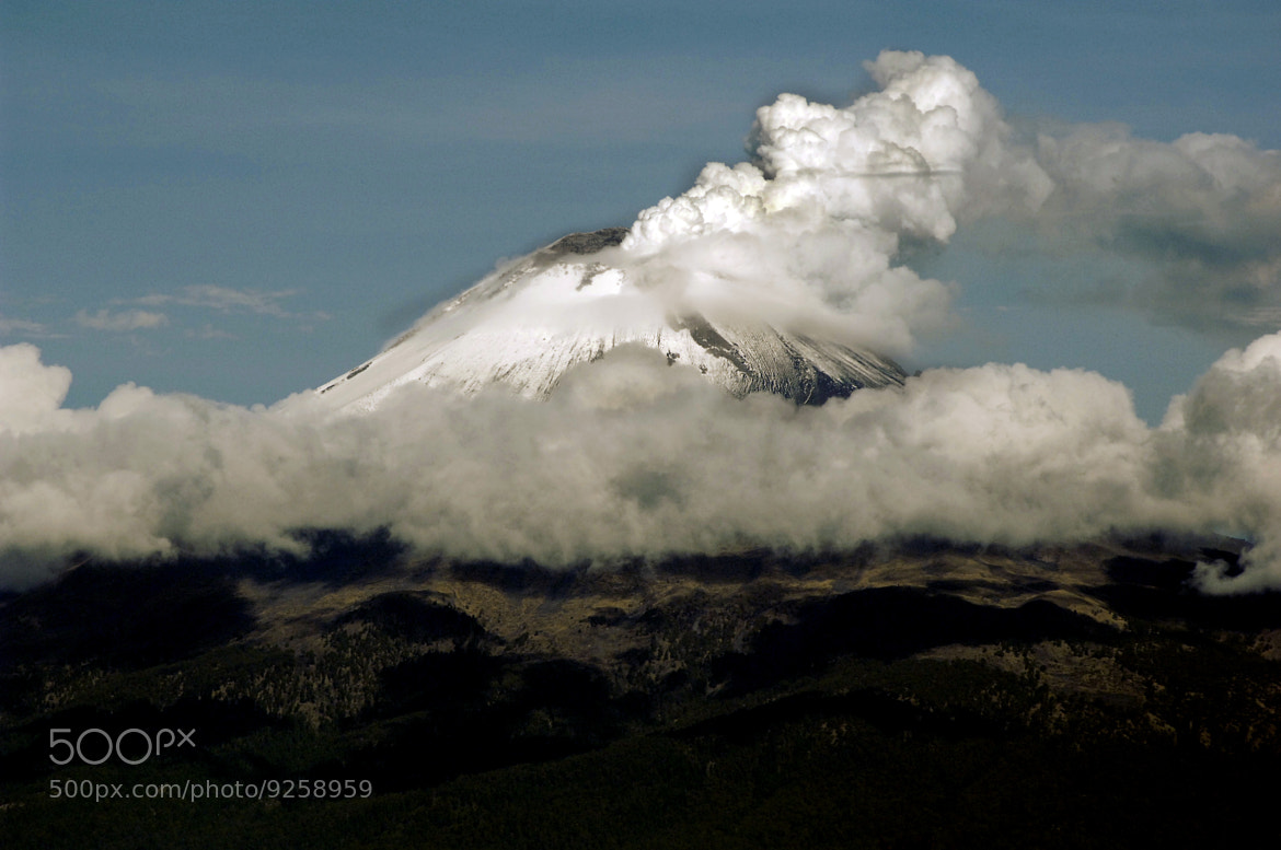 Photograph Snowy Volcano in the morning by Alfredo Garciaferro Macchia on 500px