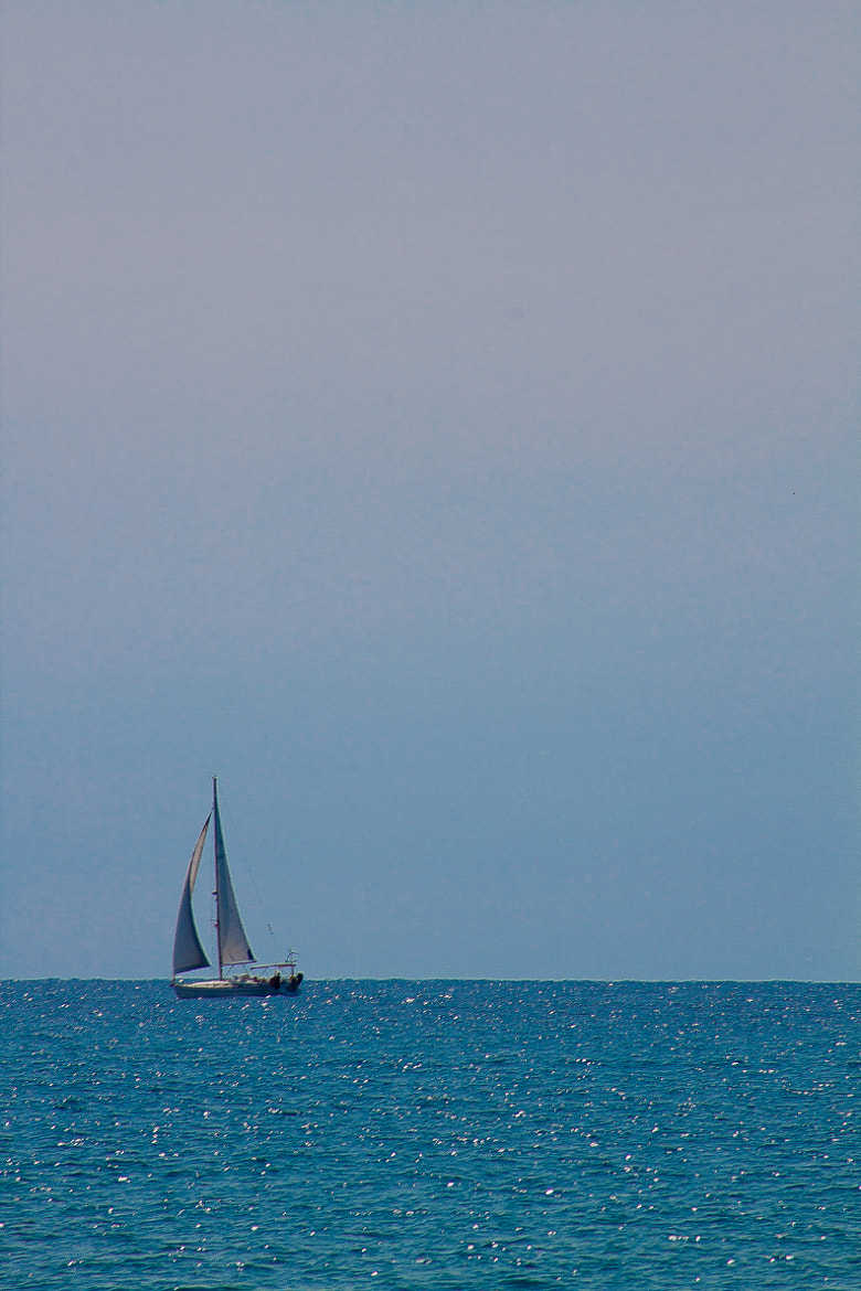 Photograph the sailboat by jose regaña on 500px