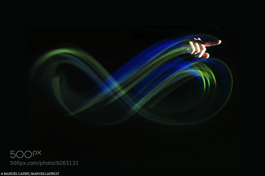 Photograph LightWriting by Manuel  Cafini on 500px