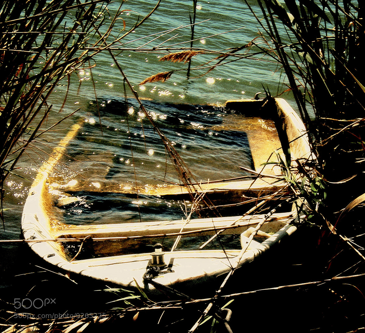 Photograph the sunken boat by Raquel Camurasiquel on 500px