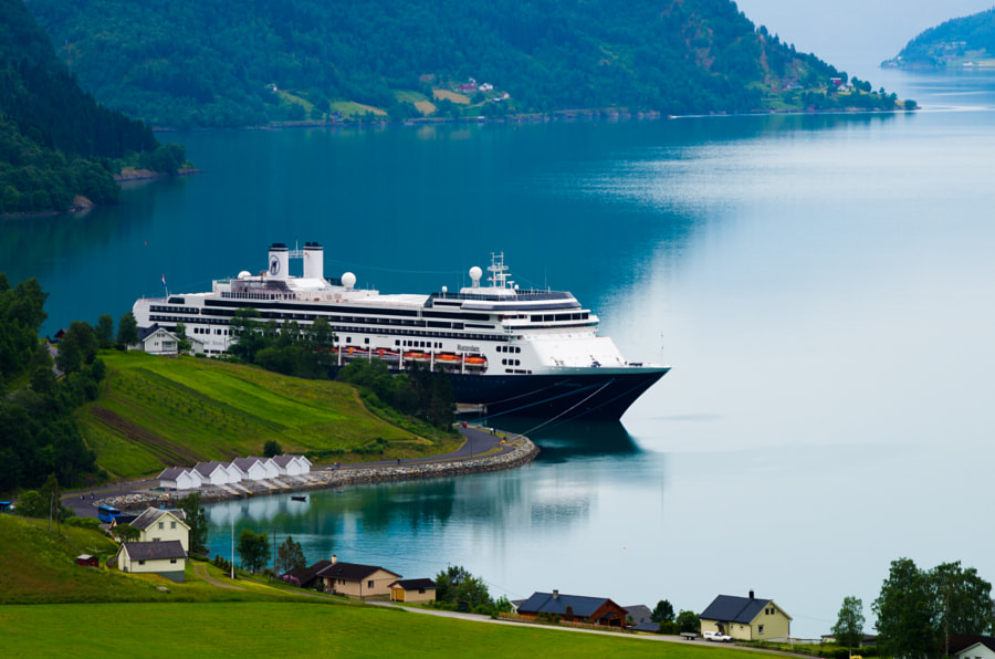 Cruising the Fjords by Noam Gordon on 500px.com