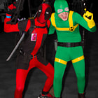 ������, ������: Deadpool and Bob Agent of Hydra cosplay
