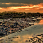 ������, ������: North Fambridge Essex at Sunset