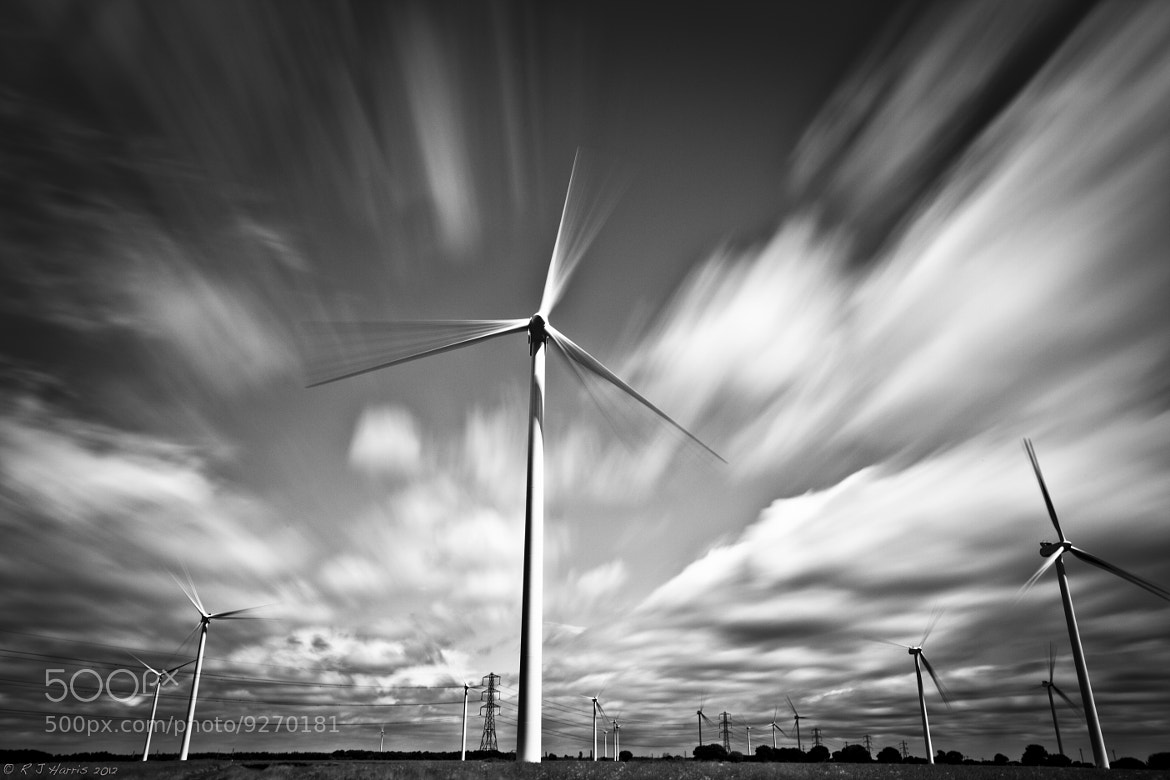 Photograph Thorne Windfarm by Rob Harris on 500px