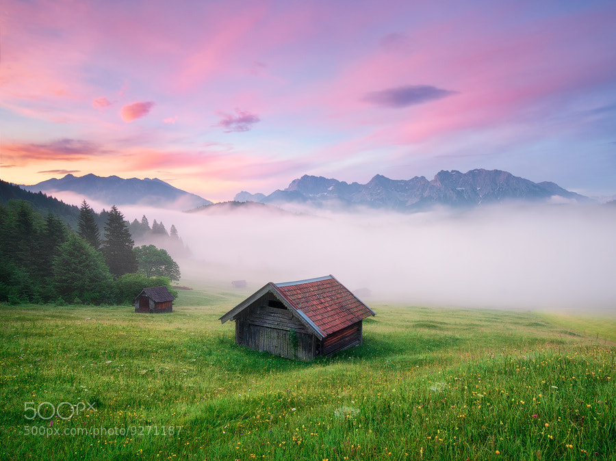 Photograph Alpen Glory by Michael  Breitung on 500px