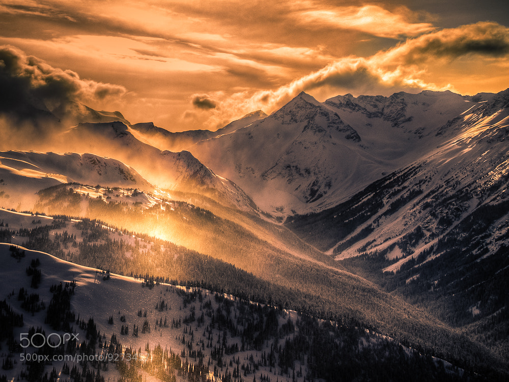 Photograph Mountain Light by Margaret Netherwood on 500px