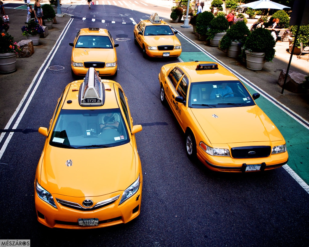 Photograph The Weirdie Yellow Cab and others by Tamás Mészáros on 500px