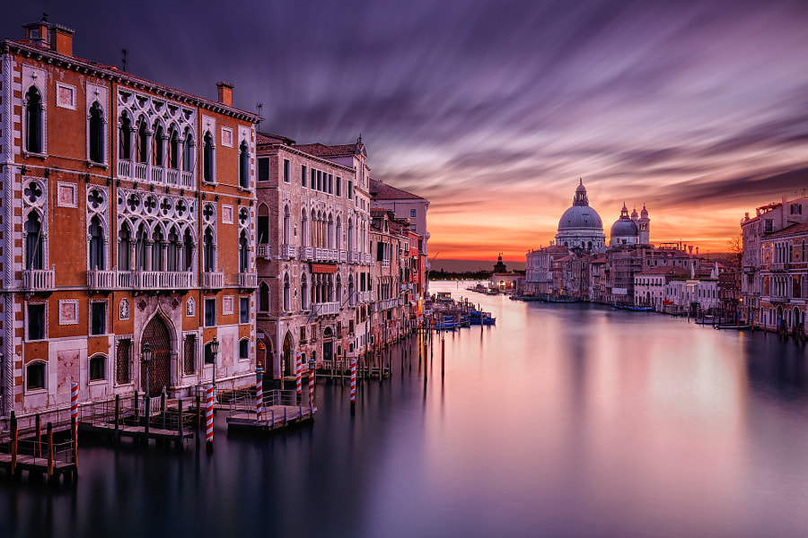 Sunrise in Venice by Andrea Livieri on 500px.com
