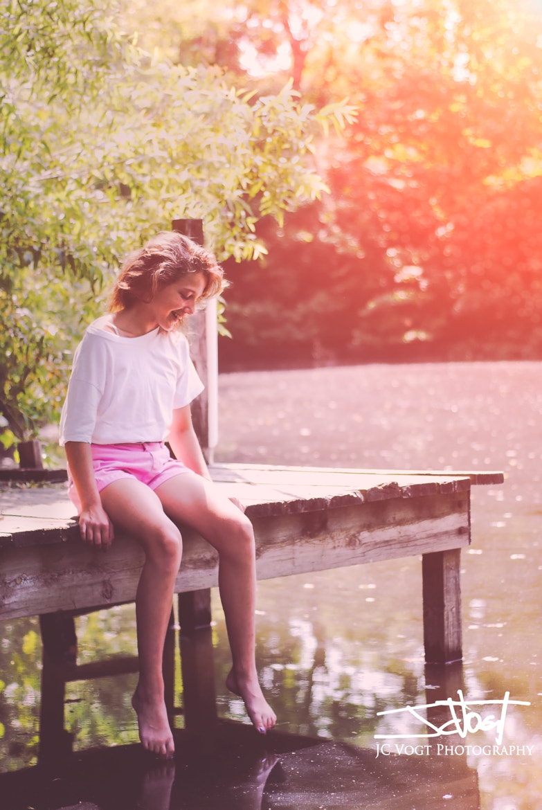 Photograph Girl on the Dock by JC Vogt on 500px