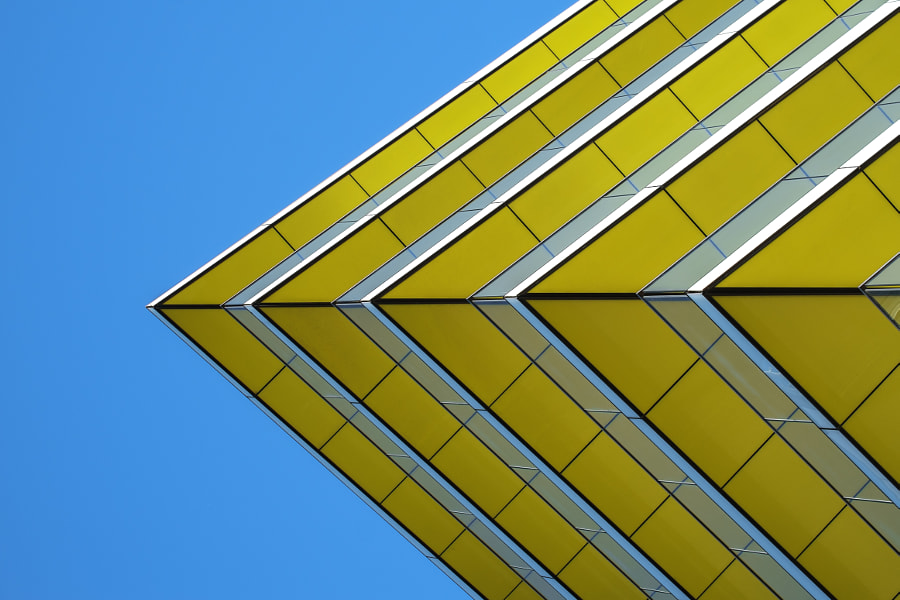 London architecture abstract