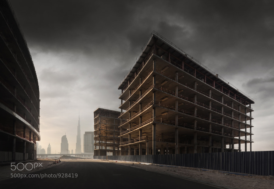 A project placed on hold in Dubai.