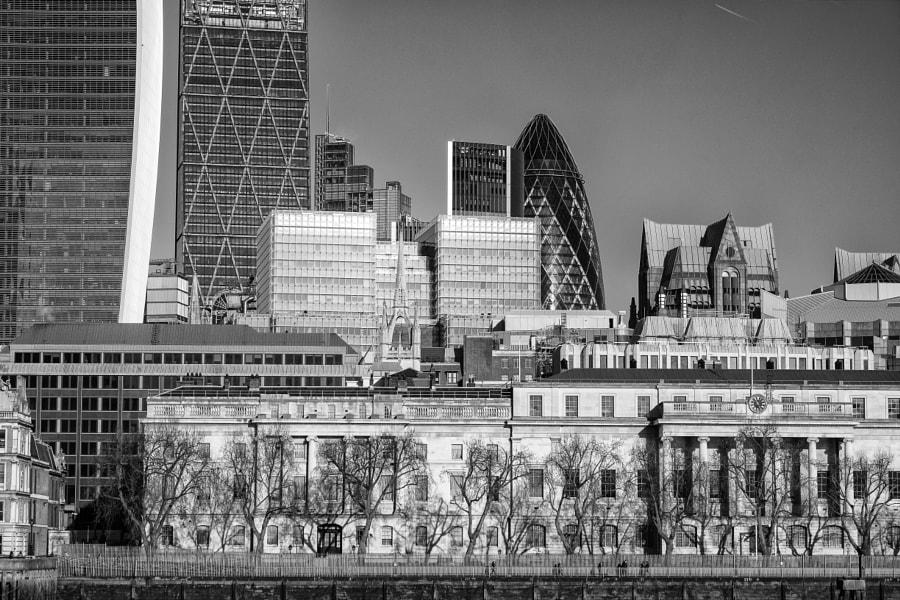 London architecture layers