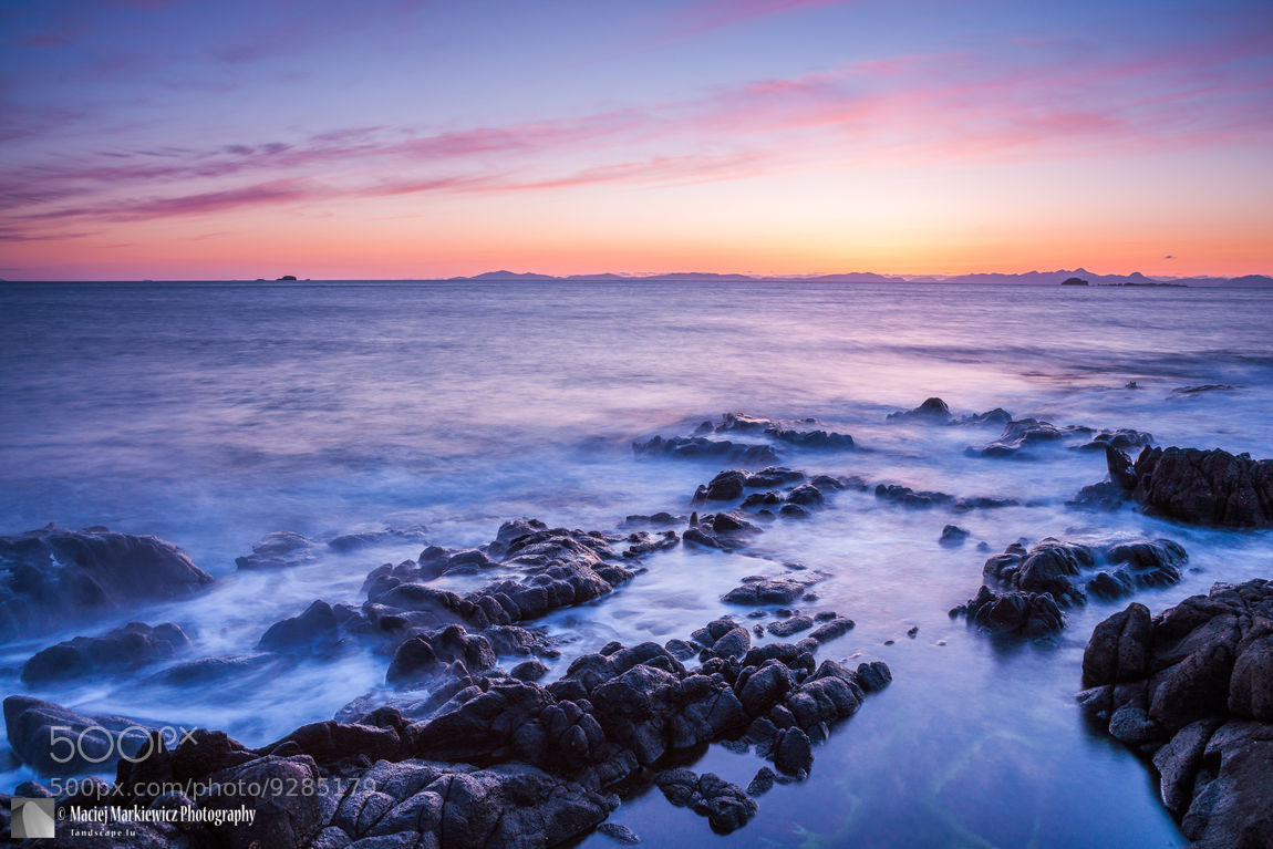 Photograph Duntulm Bay Twilight by Maciej Markiewicz on 500px