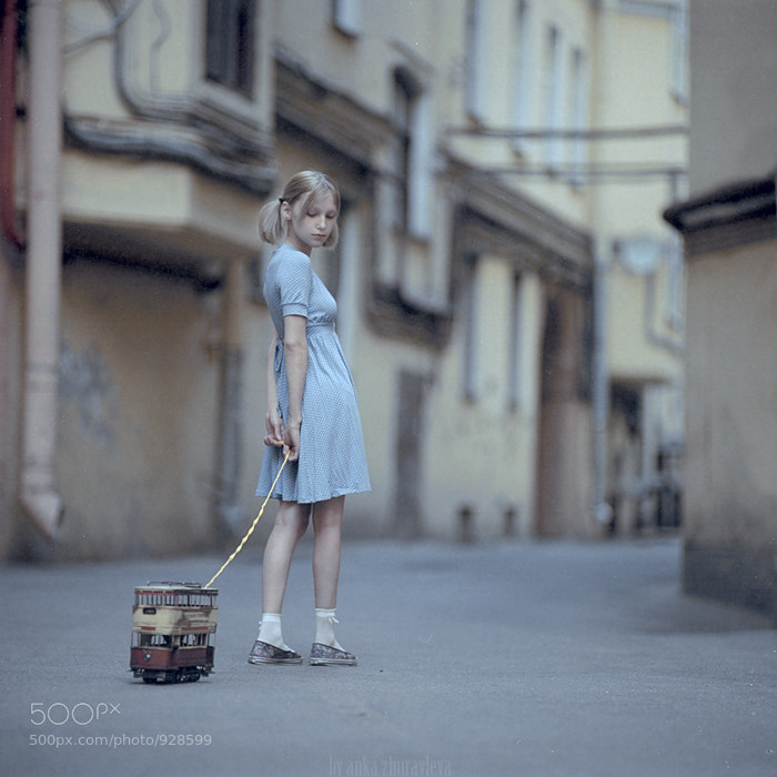 Photograph toy tramcar by Anka Zhuravleva on 500px