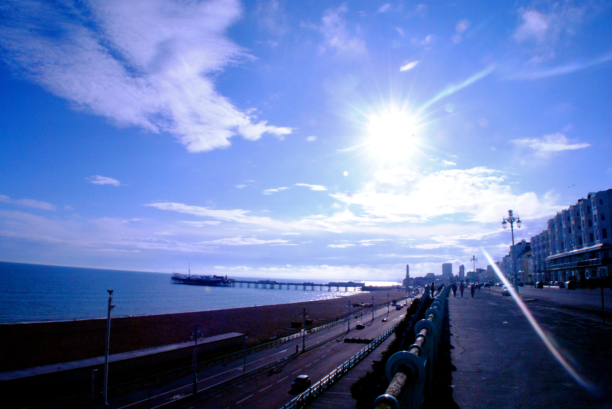 Photograph Brighton Streets - After The Rain by julian john on 500px