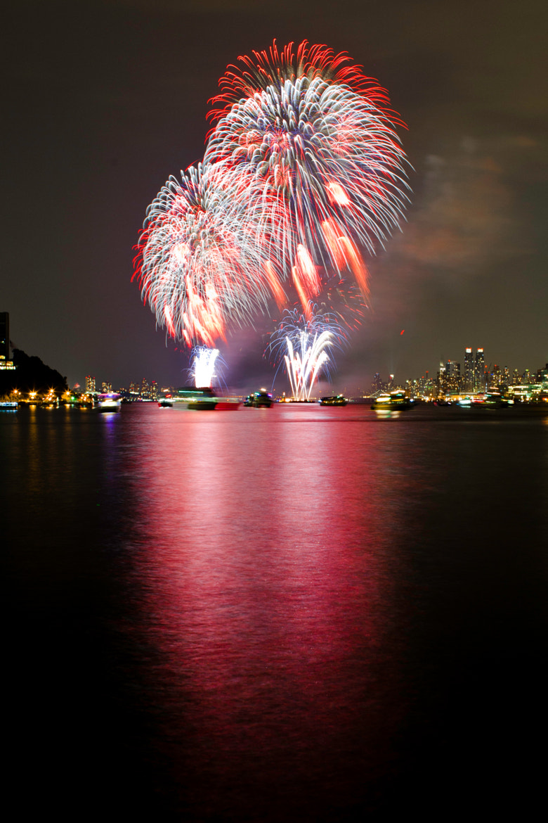Photograph NYC Fireworks by Michael Kantrowitz on 500px