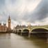 Westminster Bridge and Big Ben, London.
