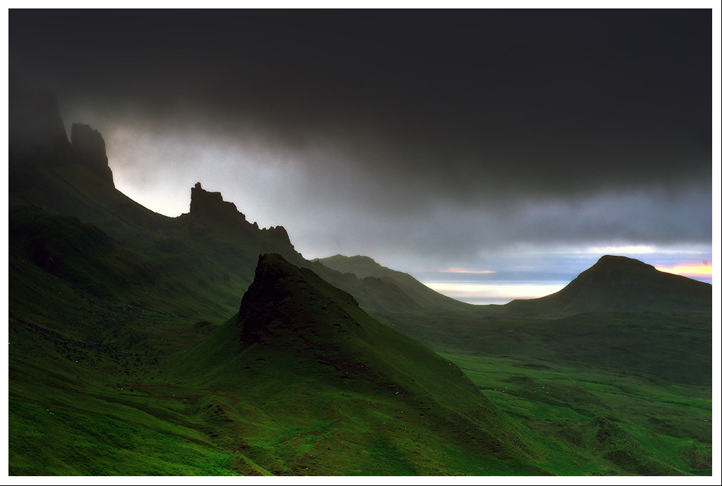 Photograph The Quiraing, Meall na Suiramach, Isle of Skye, Scotland by GARY WHITTLE on 500px