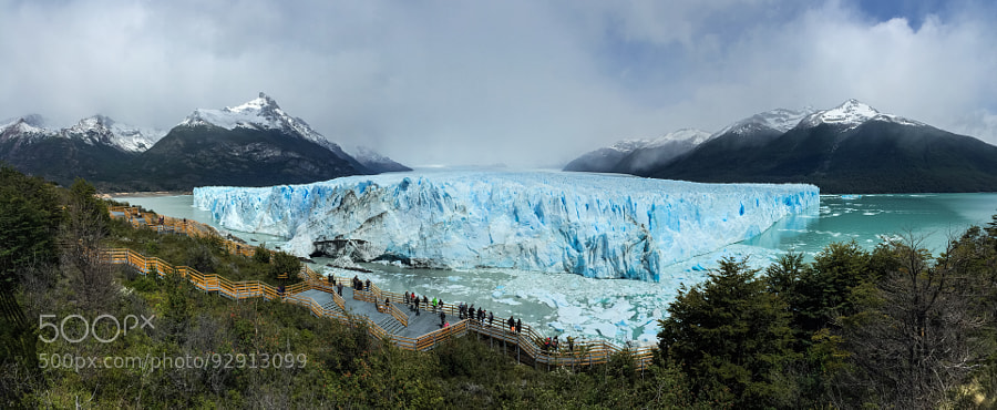 Photograph Glacier Panorama by Evgeny Tchebotarev on 500px