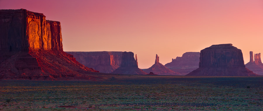 Photograph Monument Valley Sunset 1 by Jason Barnes on 500px