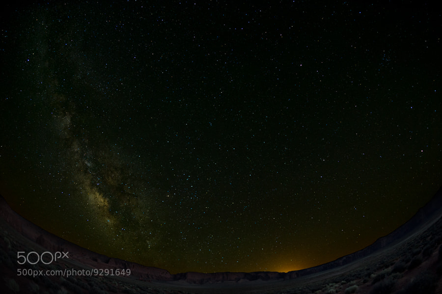 Photograph Monument Valley Starscape 1 by Jason Barnes on 500px