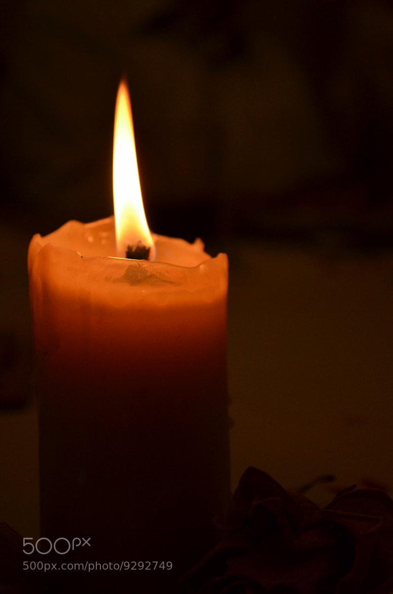 Photograph Candle at night. by Javier Lopez on 500px