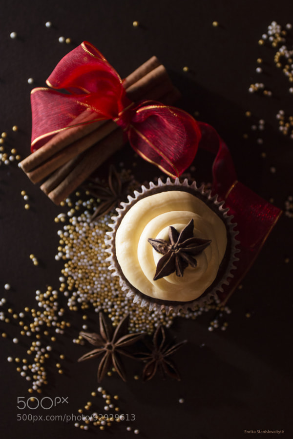 Photograph Christmas Cupcakes by Enrika Stanislovaityte on 500px