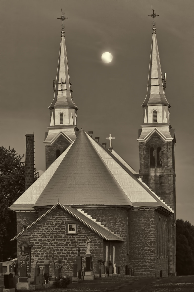 Photograph Blessed Moon by Serge Gagné on 500px