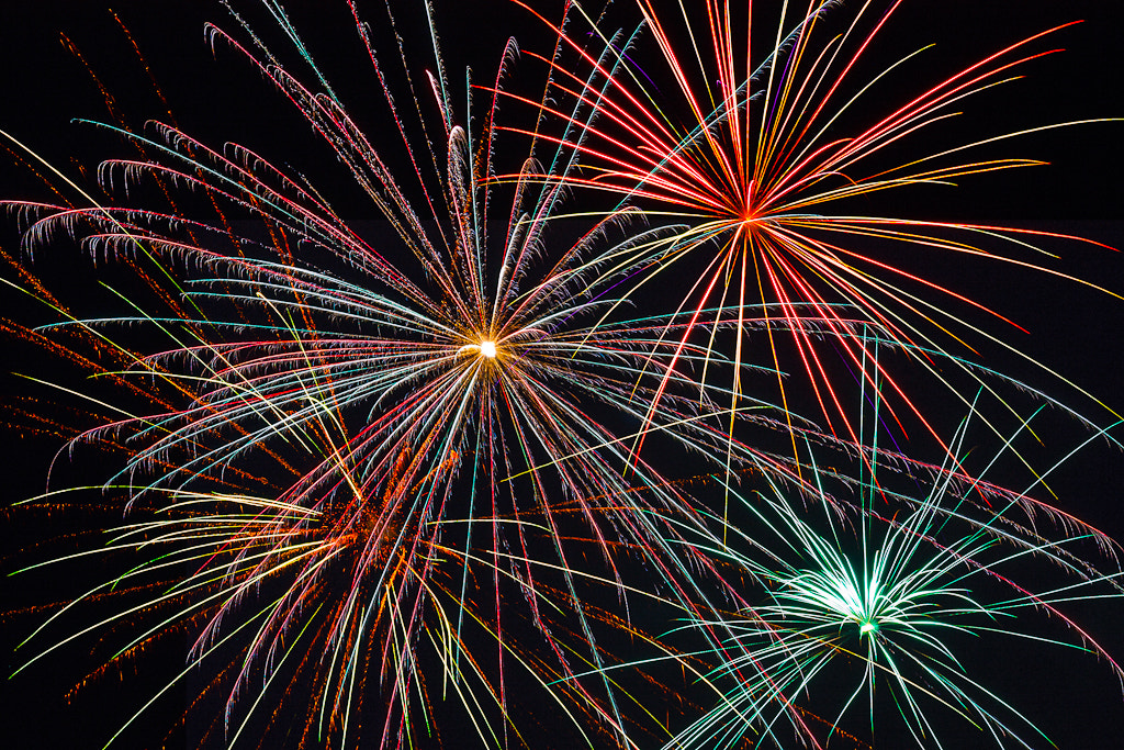 Photograph Fireworks by Greg Booher on 500px