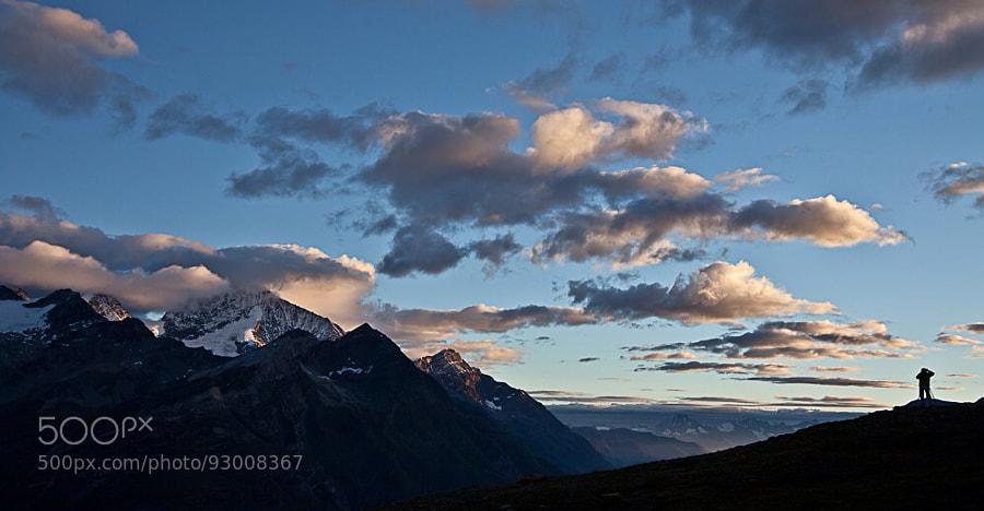 Photograph Promenade en montagne by Pascal Jeanrenaud on 500px