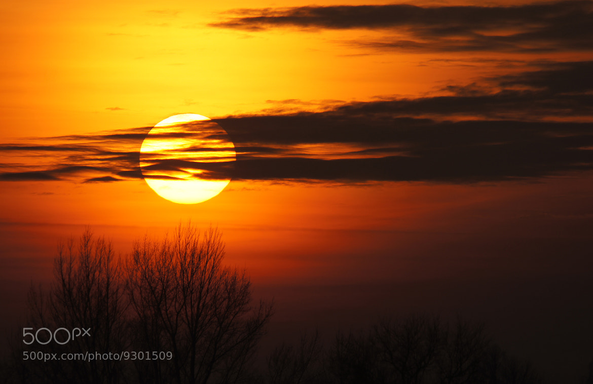 Photograph setting sun by Andy 58 on 500px