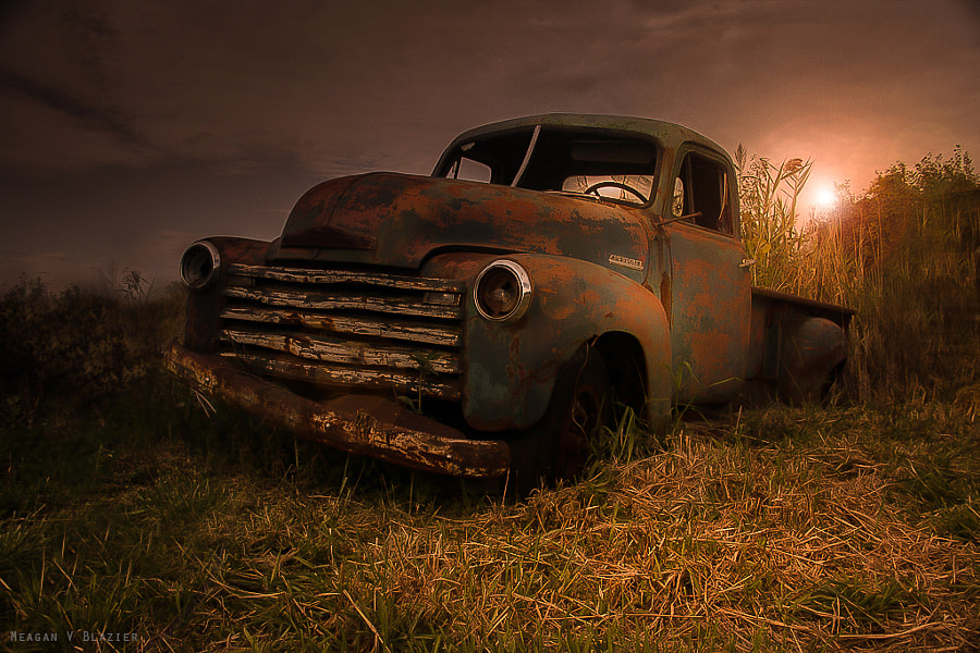 Old Metal by Meagan V. Blazier on 500px.com