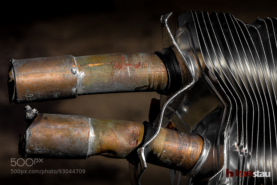 Photograph Old Radiator from a Junkyard by hitzestau on 500px