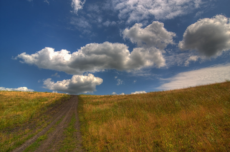 Photograph Way to the clouds by Eddy VANDERSPIKKEN on 500px