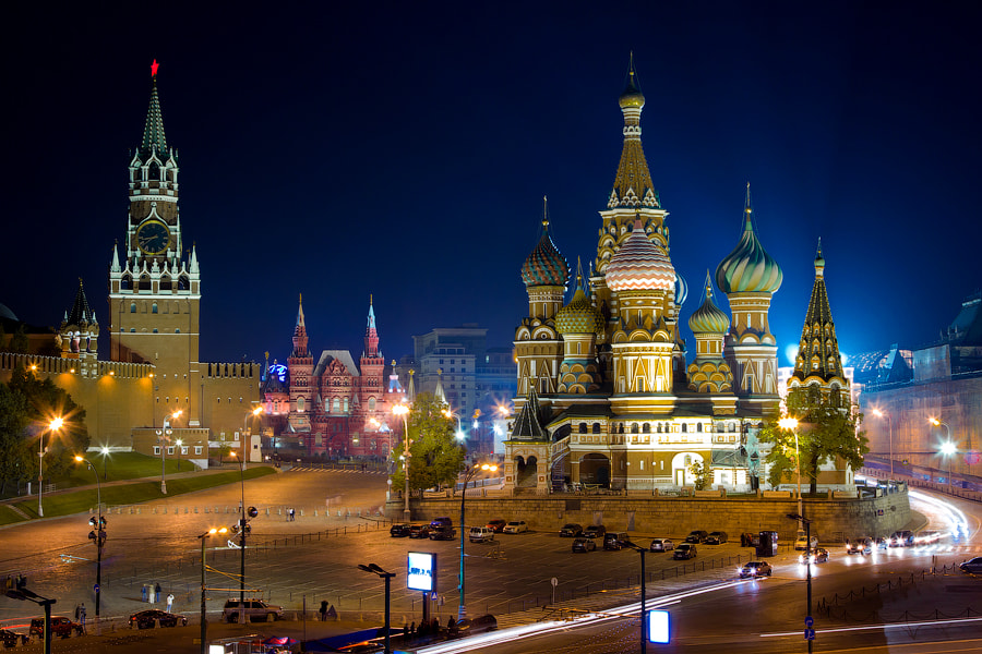Photograph Red Square by Marat Dupri on 500px