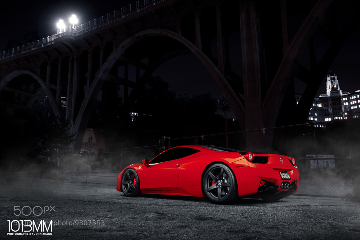 Photograph Forgestar Ferrari 458 Italia by John Zhang on 500px