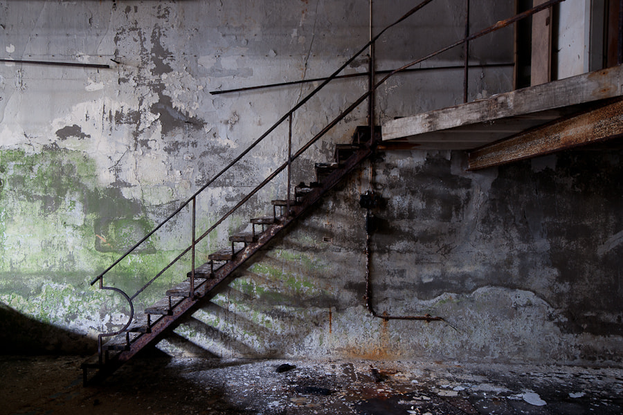 Photograph Stairway to nothing by Luc Rokegem on 500px