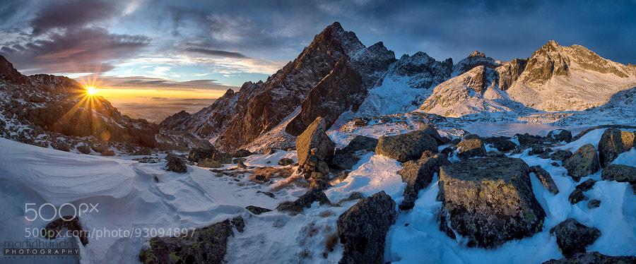 Tatra Mountains in winter by Martin Hundák