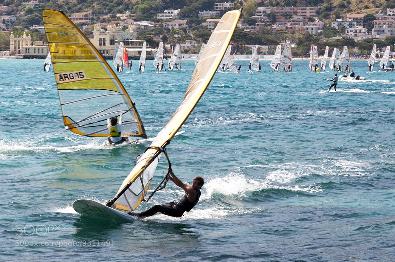 Photograph Windsurfing... by Francesco Zappalà on 500px