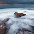 This view of a tempestuous sky in South Cronulla was an image I shot over four years ago, and originally processed and published in black and white.  Here is a newly-processed colour version. To my eyes years later, it looks just as effective in colour as it does in black and white.