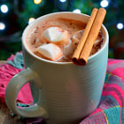 ������, ������: Hot chocolate with marshmallows