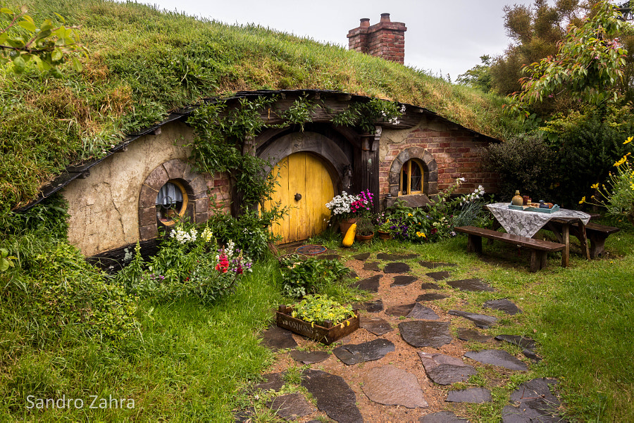 Hobbit home by Sandro Zahra on 500px.com
