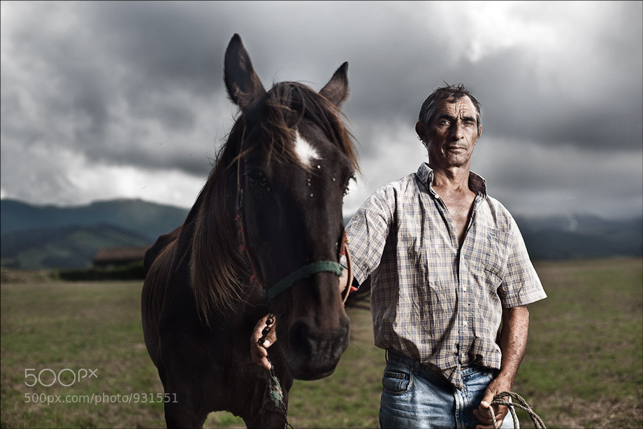 Photograph A Man and His Horse by Travis Tank on 500px