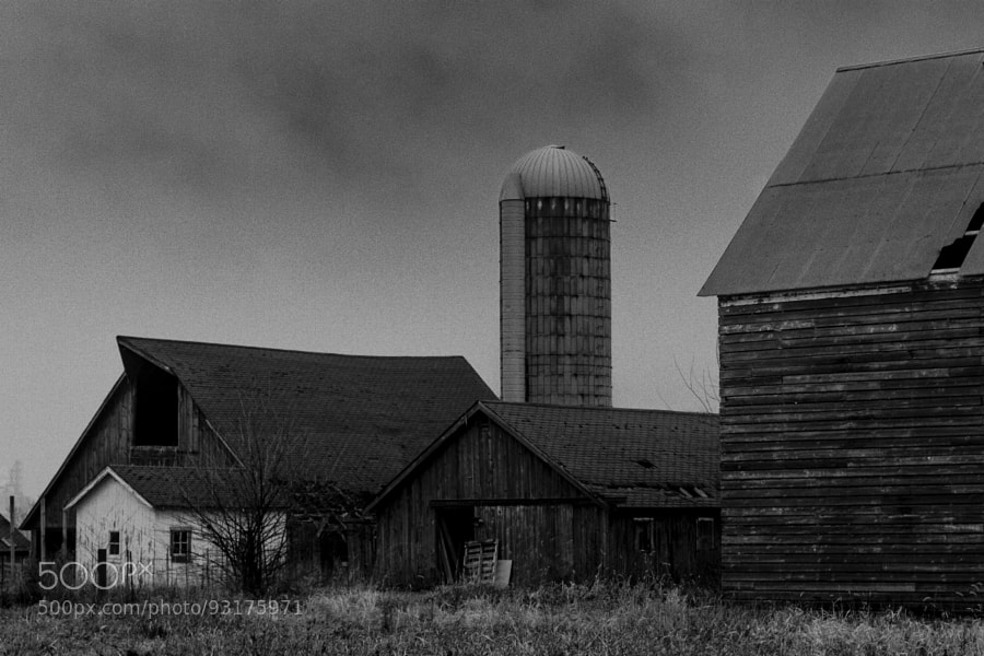Photograph Iowa Farm- December by Jeff Carter on 500px