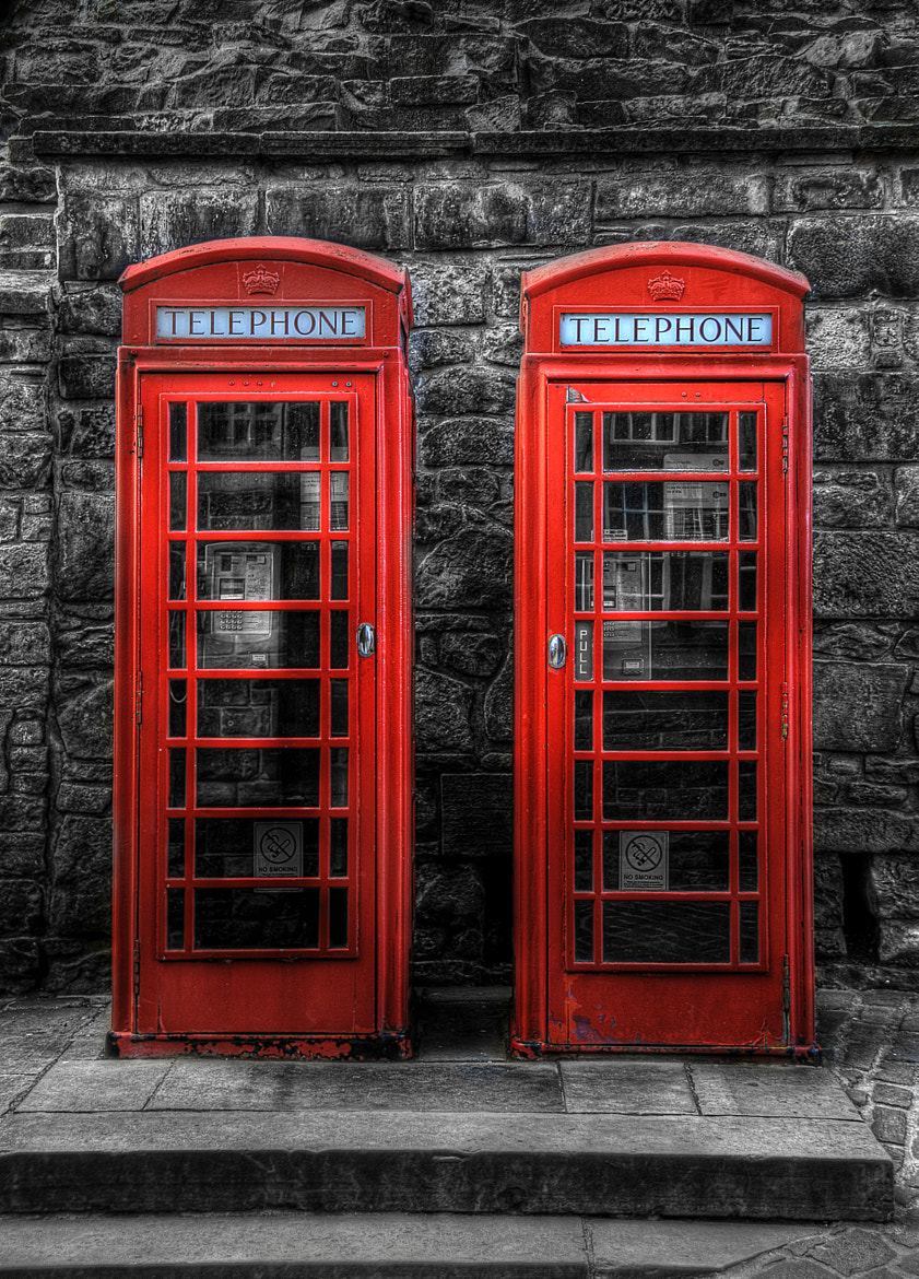 Photograph Phonebox Pop by David Brown on 500px