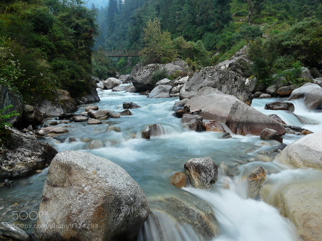 Photograph glacial stream by Gokul K on 500px