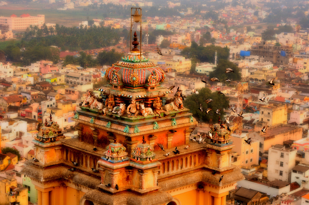 Photograph temple tower by Gokul K on 500px