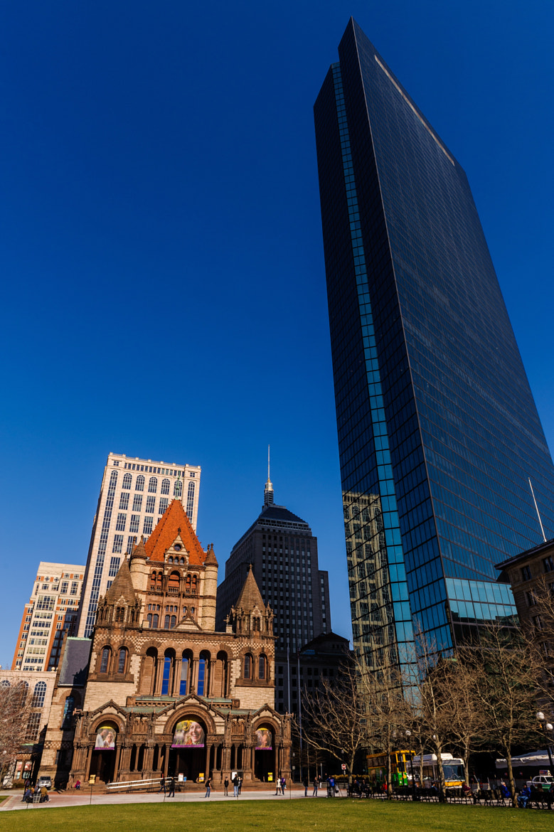 Photograph Old and New Boston by Mark Ellison on 500px